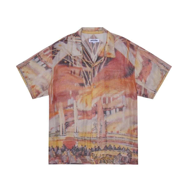 Fucking Awesome 1893 World Fair Club Shirt Metallic Medium