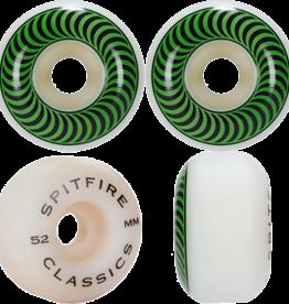 Spitfire Wheels Spitfire Classic 99a 52 Green