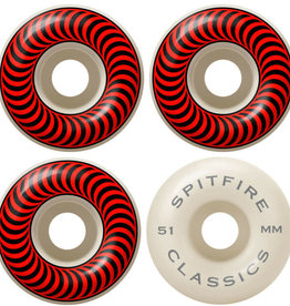 Spitfire Wheels Spitfire Classic 99a 51 Red