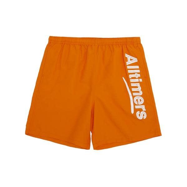 ALLTIMERS Swum Shorts Orange