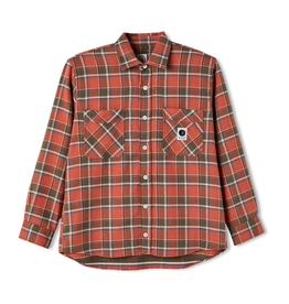 Polar Skate Co. Flannel Shirt Orange