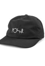 Polar Skate Co. Logo Lightweight Cap Black