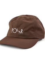 Polar Skate Co. Logo Lightweight Cap Brown