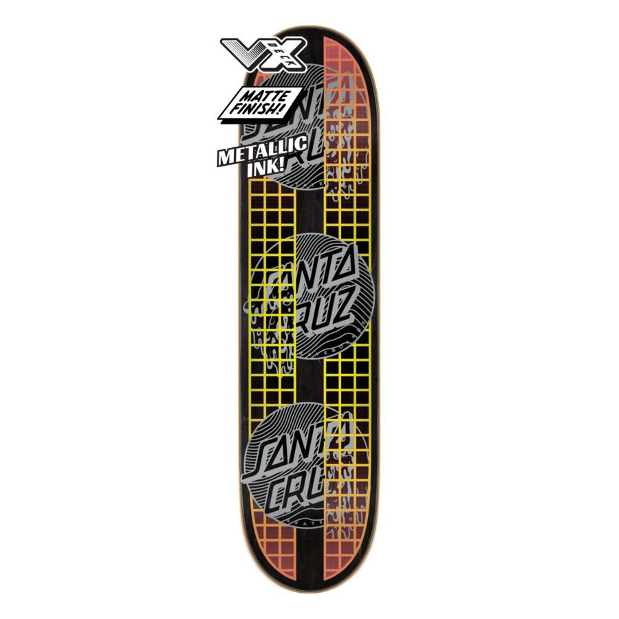 Santa Cruz Skateboards Transcend Dots VX 7.75