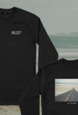 Miles Griptape Miles Logo Hit L/S Black