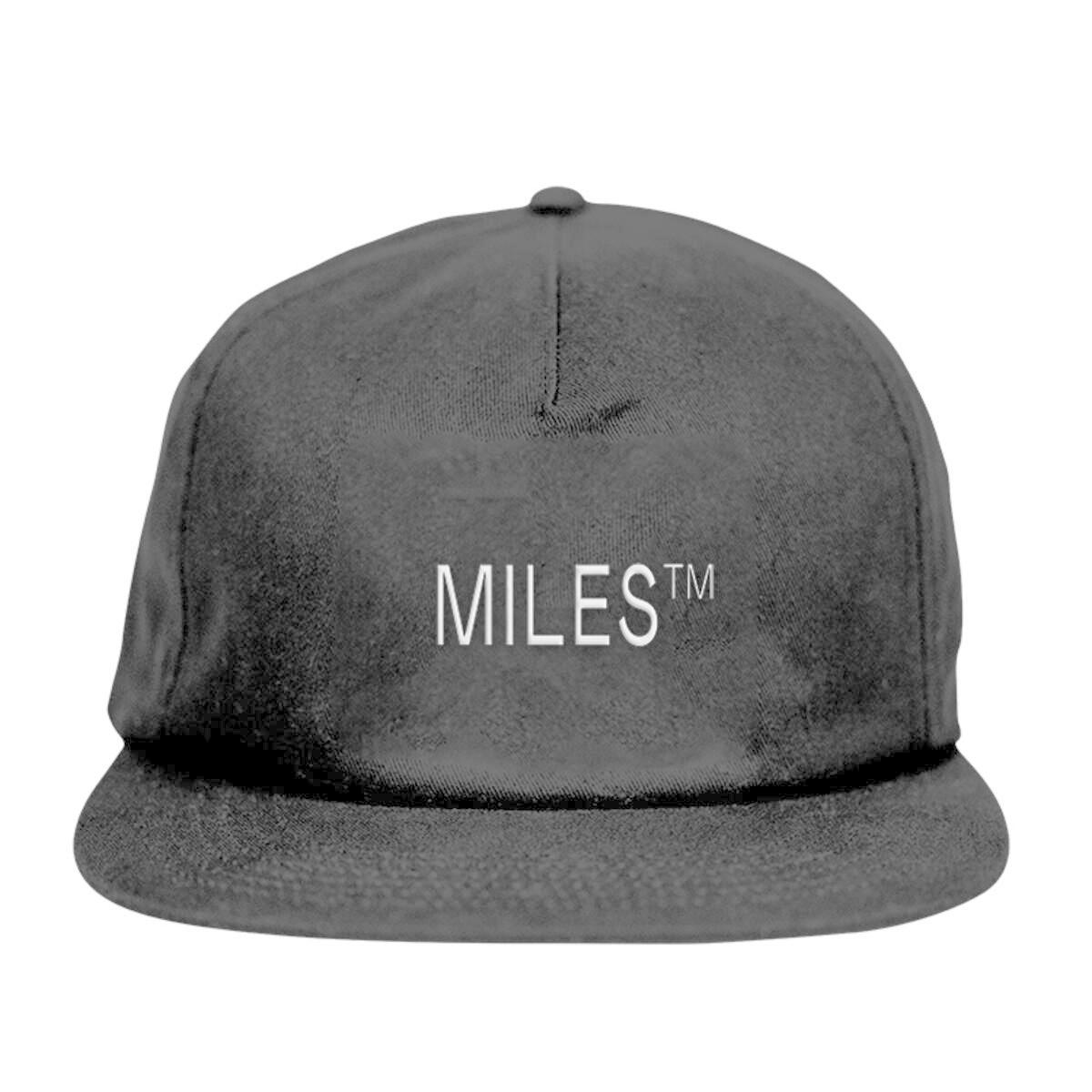 Miles Griptape Miles Logo Hat Black