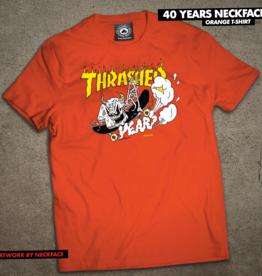 Thrasher Mag. 40 Years Neckface Orange