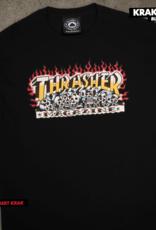 Thrasher Mag. Krak Skulls Black