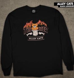 Thrasher Mag. Alley Cat L/S Black