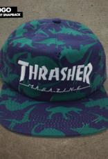 Thrasher Mag. Mag Logo Snapback Dino Print