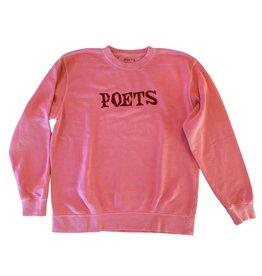 Poets Velvet Crew Neck Fleece Brick M