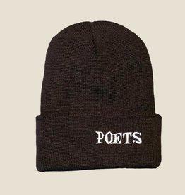 Poets Clokey Knit Beanie Black