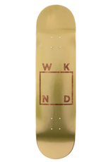 "WKND Gold Plated Logo 7.75"""