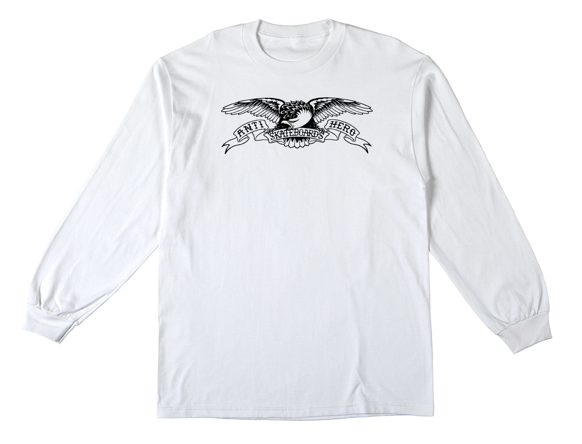 Anti Hero Basic Eagle L/S White/Black