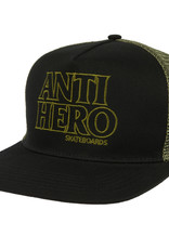 Anti Hero Blackhero Outline Trucker Black/Olive