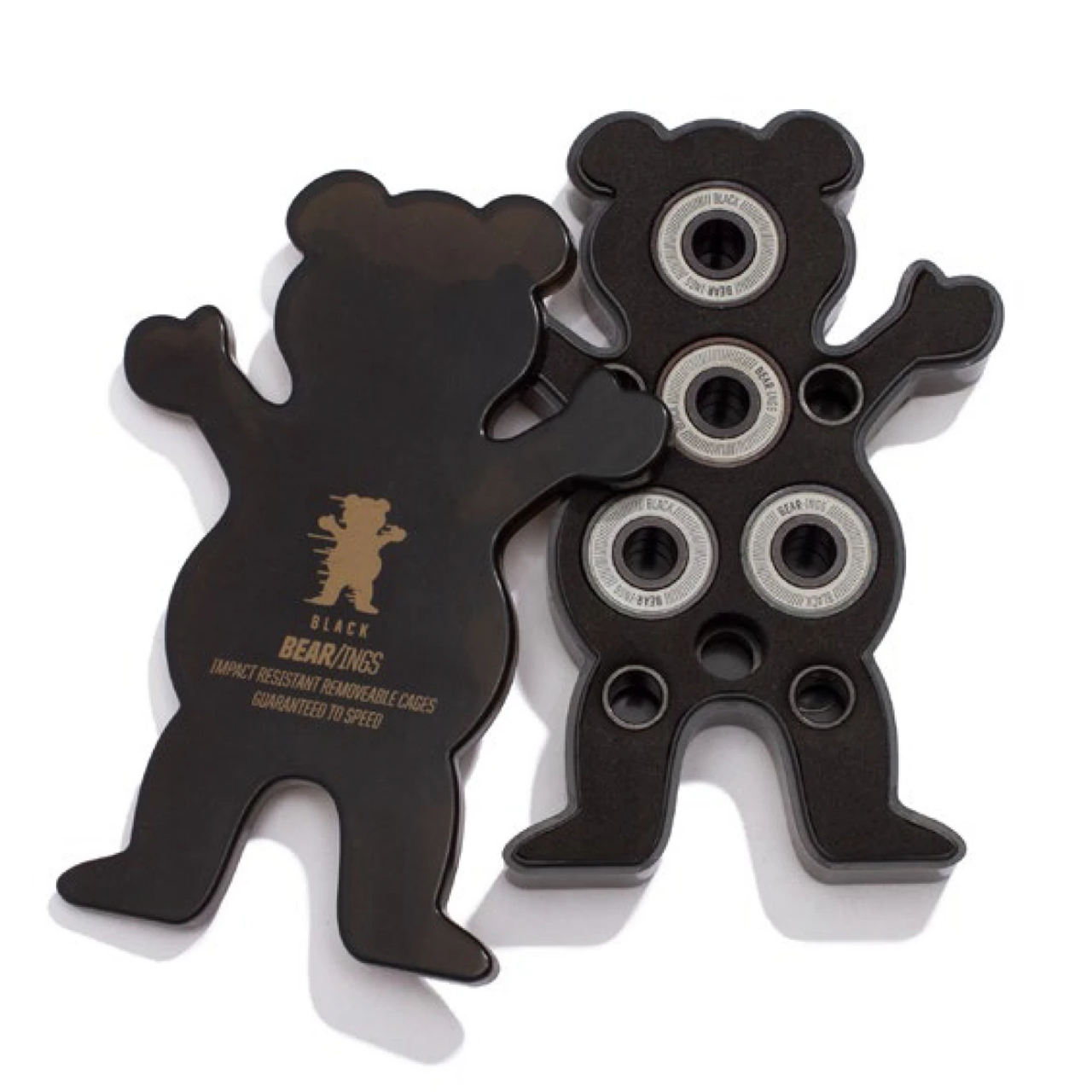 Grizzly Griptape Golden Bear-ings Black