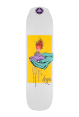 """Welcome Skateboards Soil on Wicked Princess White Dip 8.125"""""""