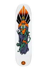 "Welcome Skateboards Futbol on Son of Moontrimmer White 8.25"""