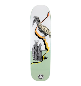 """Welcome Skateboards Inferno on Stonecipher White/Sage 8.6"""""""
