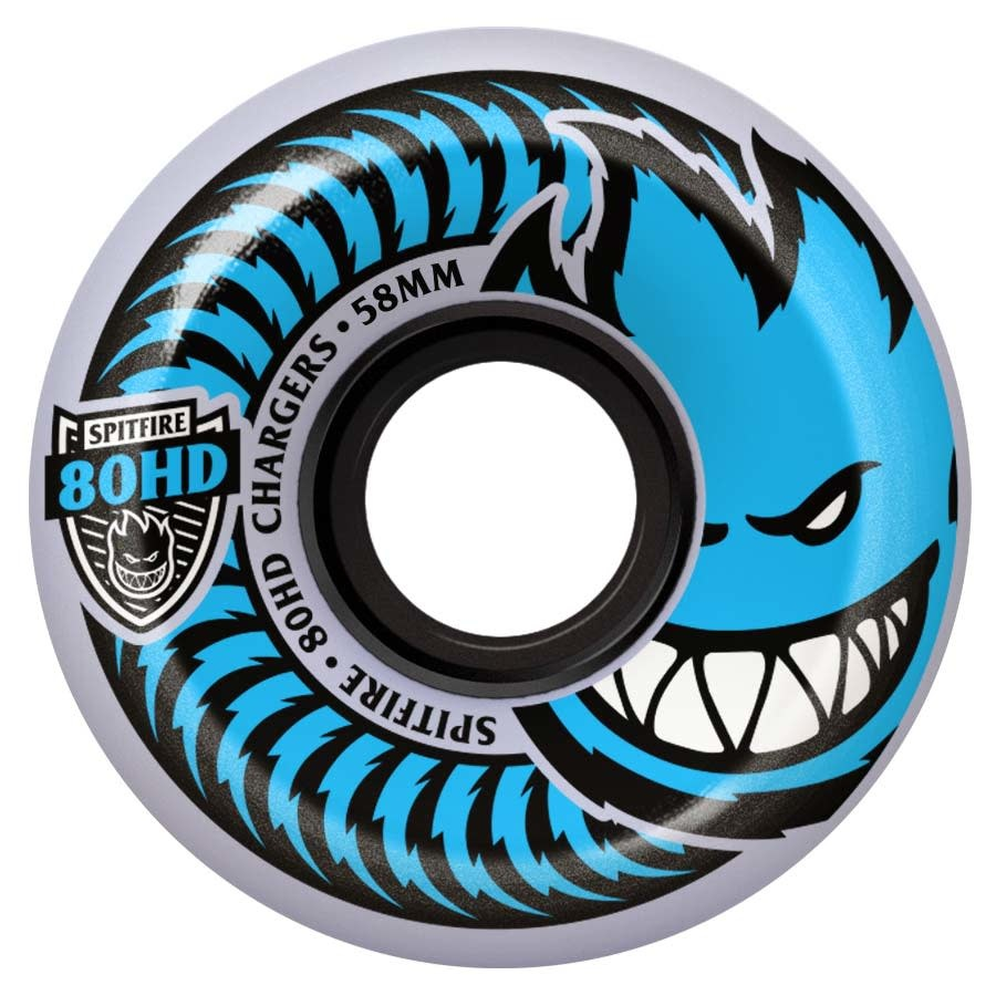 Spitfire Wheels Spitfire 80hd Charger Conical Clear 58mm
