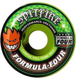 Spitfire Wheels Spitfire F4 99d Conical Full Swirl Neon 53mm