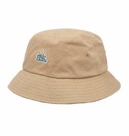 HUF Crown Reversible Bucket Hat Camel S/M