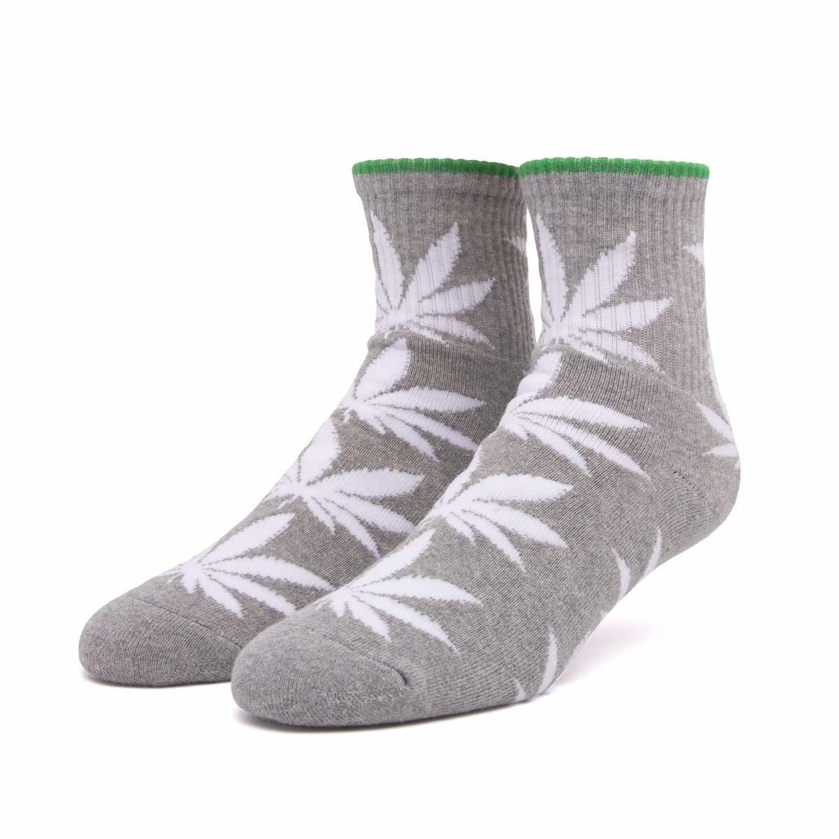 HUF Plantlife 1/4 Sock Grey