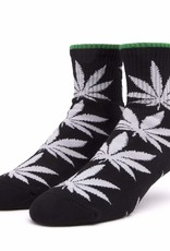 HUF Plantlife 1/4 Sock Black