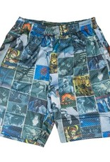 Fucking Awesome Frogman Collage Jersey Short Multi