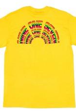 CallMe917 Rainbow Tee Yellow