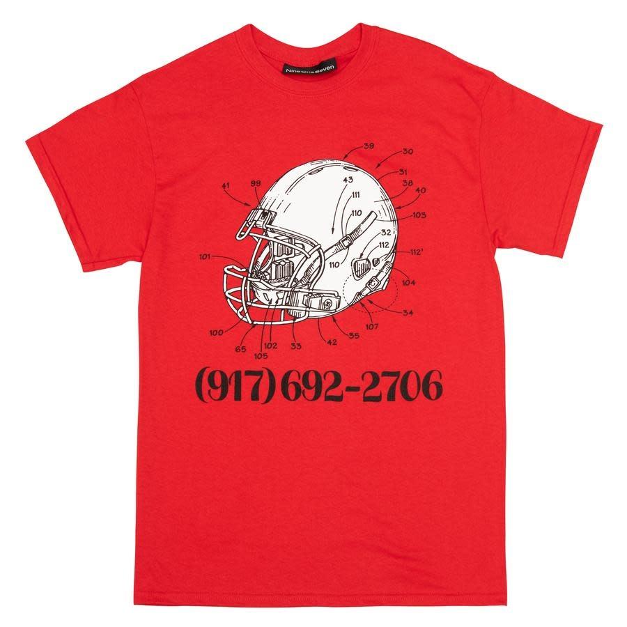 Call Me 917 Football Red
