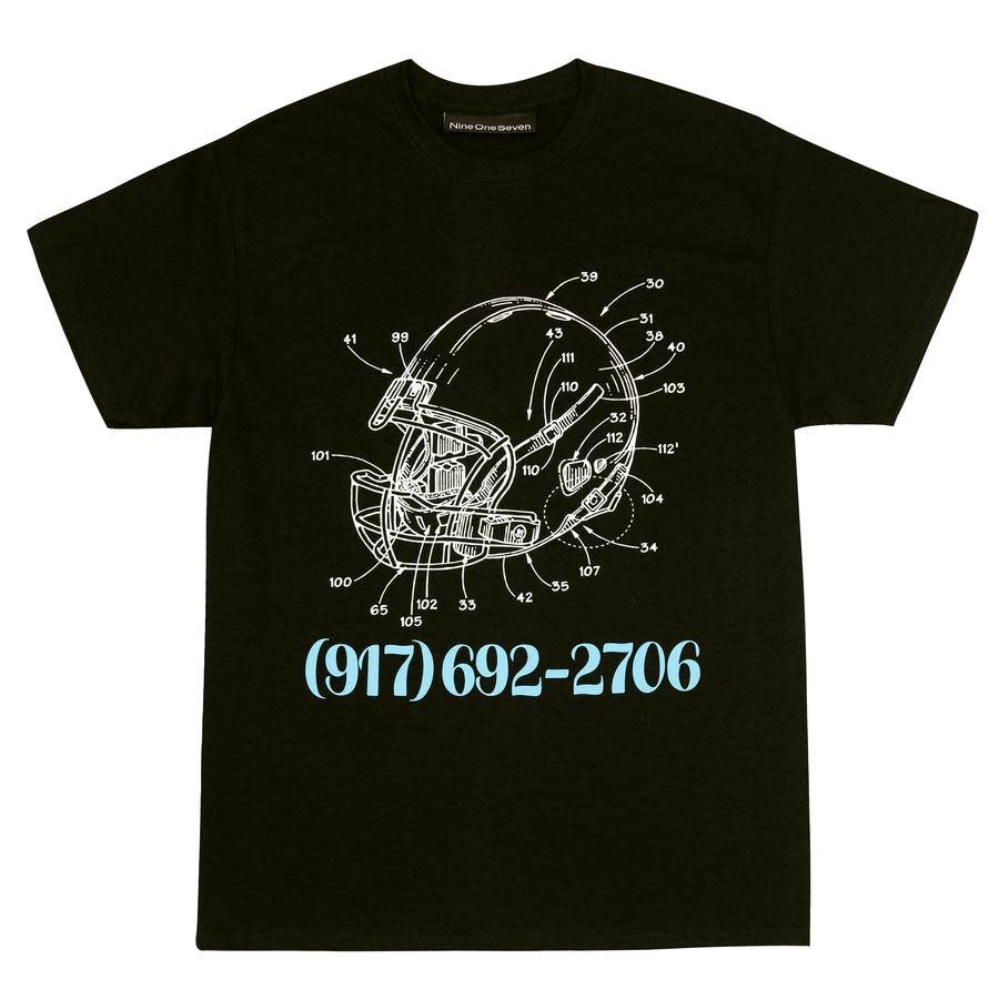 Call Me 917 Football Black