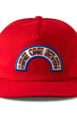 Call Me 917 Rainbow Trucker Red