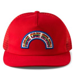 CallMe917 Rainbow Trucker Red