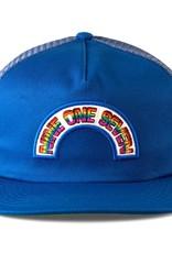 Call Me 917 Rainbow Trucker Blue