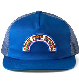 CallMe917 Rainbow Trucker Blue