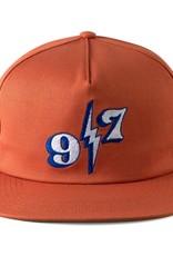 Call Me 917 Bolt Orange Snapback