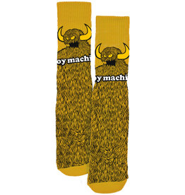 Toy Machine Furry Monster Mustard Sock