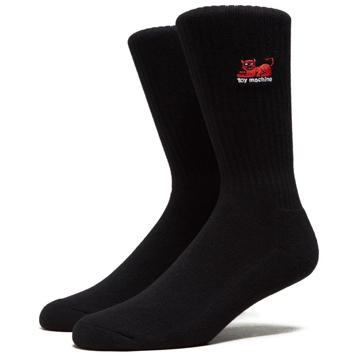 Toy Machine Devil Cat Black Sock