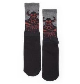 Toy Machine Hell Monster Crew Black Sock
