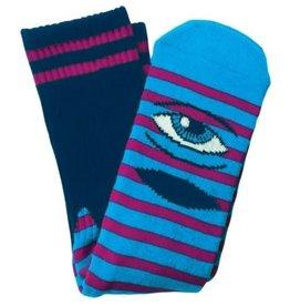 Toy Machine Sect Eye Stripe Navy/Purple Sock