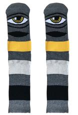 Toy Machine Sect Eye Big Stripe Dark Grey Sock