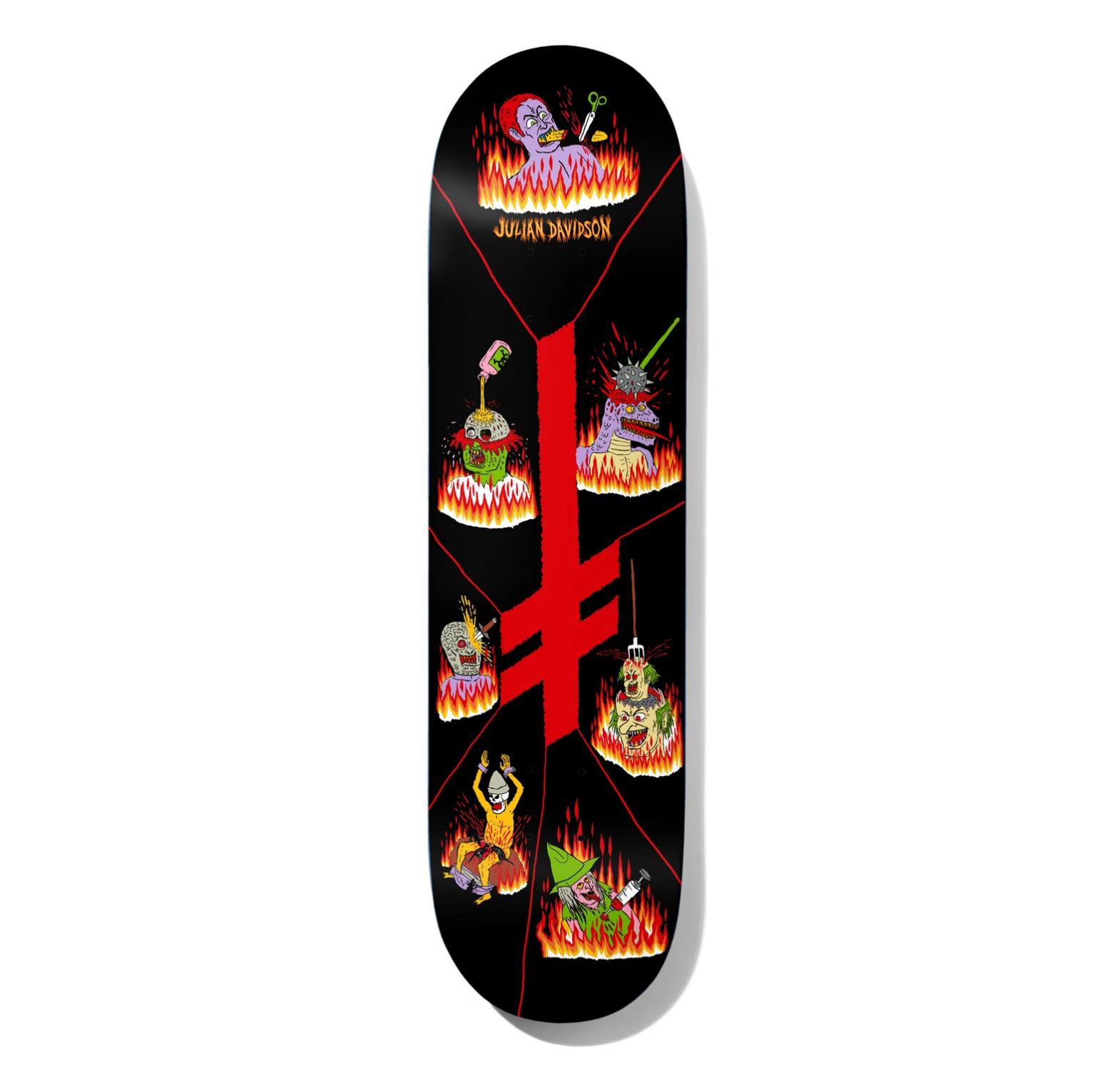 "Deathwish Skateboards JU Blasphemy 8.5"""