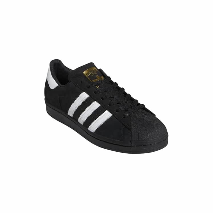 Adidas Superstar Black/White/Gold