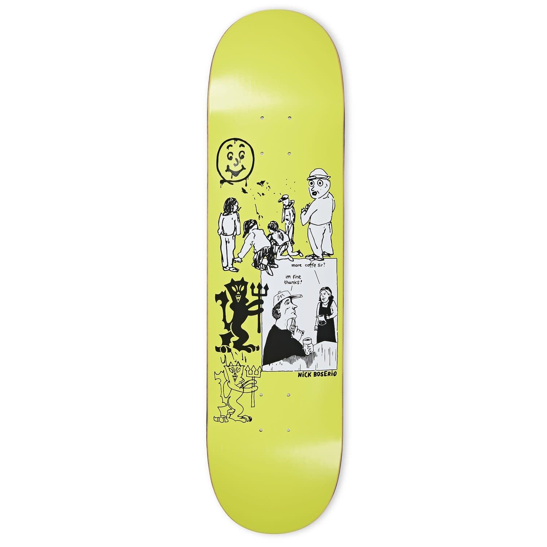 Polar Skate Co. Boserio Year 2020 8.75 Moss Green