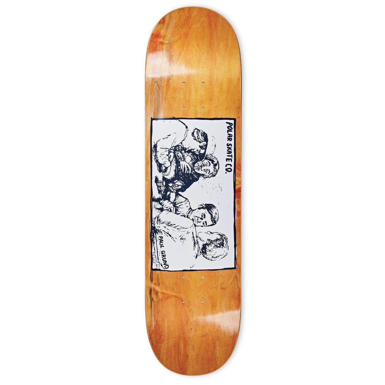 Polar Skate Co. Grund Cold Streak 8.25 Orange