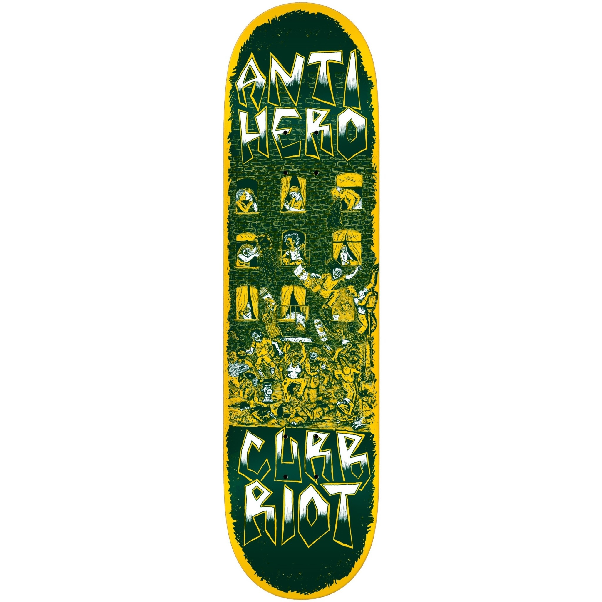Real Skateboards Curb Riot Redux 8.12