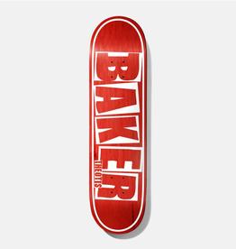 """Baker Skateboards TB Brand Name Red Veneer 8.5"""""""