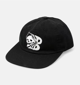 Baker Skateboards Capital B Skull Black Snapback