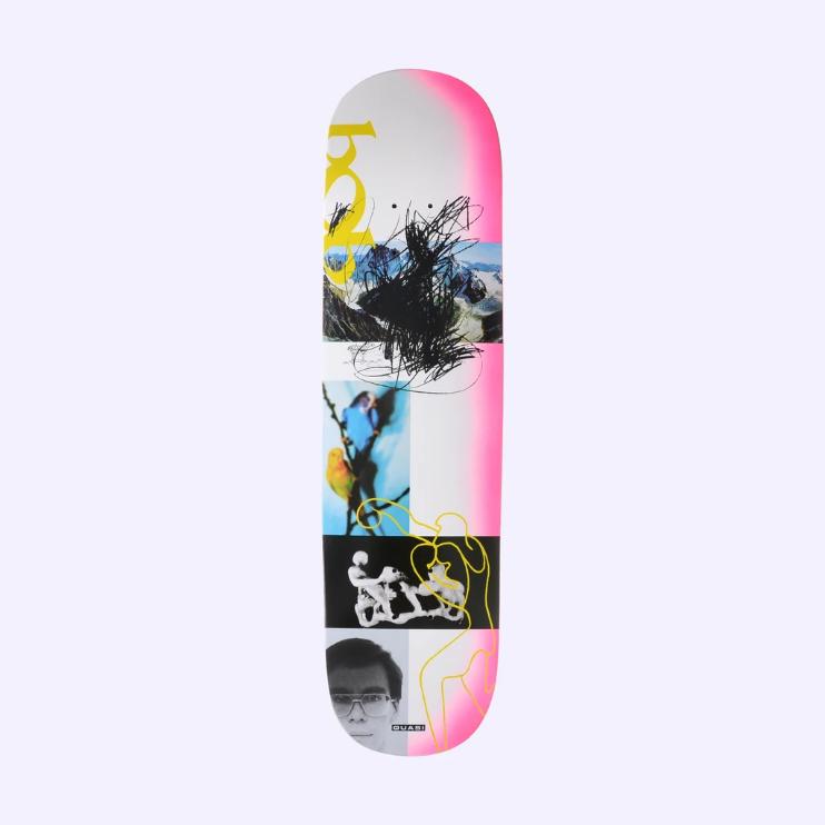 Quasi Skateboards Debut 8.25 Pink